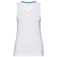 SUW TOP V-neck Singlet ACTIVE F-DRY LIGHT, white, large