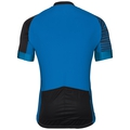 Stand-up collar s/s full zip UMBRAIL Ceramicool X-Light, energy blue - black, large