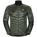 Jacket insulated NEON COCOON, climbing ivy - black, large
