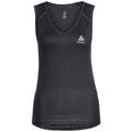 SUW TOP V-neck Singlet ACTIVE Cubic LIGHT 2 Pack, ebony grey - black, large