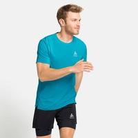 T-shirt da corsa da uomo ZEROWEIGHT CHILL-TEC da uomo, horizon blue, large