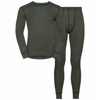 Men's ACTIVE WARM ECO Baselayer Set, climbing ivy, large