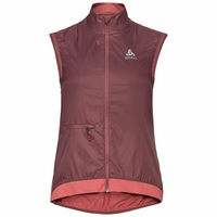 Women's ZEROWEIGHT Cycling Vest, roan rouge - faded rose, large