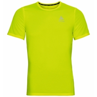 T-Shirt ELEMENT LIGHT PRINT pour homme, safety yellow (neon) - placed print FW19, large