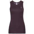 PERFORMANCE LIGHT-basislaag-singlet voor dames, plum perfect - quail, large