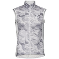 Men's ZEROWEIGHT Cycling Vest, odlo silver grey - paper print, large