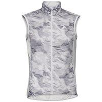 Bodywarmer FUJIN, odlo silver grey - paper print, large