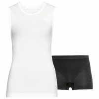 Completo intimo sportivo PERFORMANCE LIGHT da donna, white - black, large