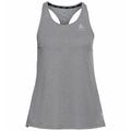 Women's MILLENNIUM Singlet, grey melange, large
