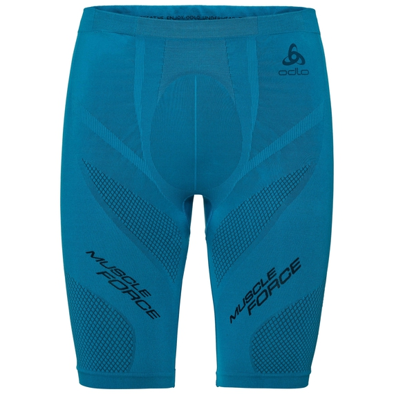 BAS SVS court MUSCLE FORCE, blue jewel - diving navy, large