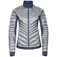 Jacket insulated NEON COCOON, odlo silver grey, large