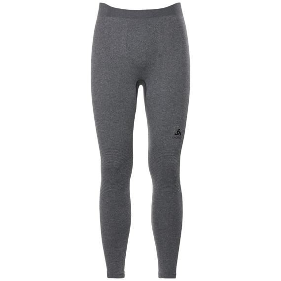 Naadloze onderkleding Broek PERFORMANCE WARM, grey melange - black, large