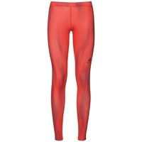 EBE Laufhose, hot coral AOP, large