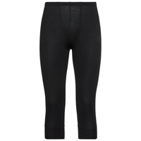 Men's ACTIVE WARM 3/4 Baselayer Pants, black, large