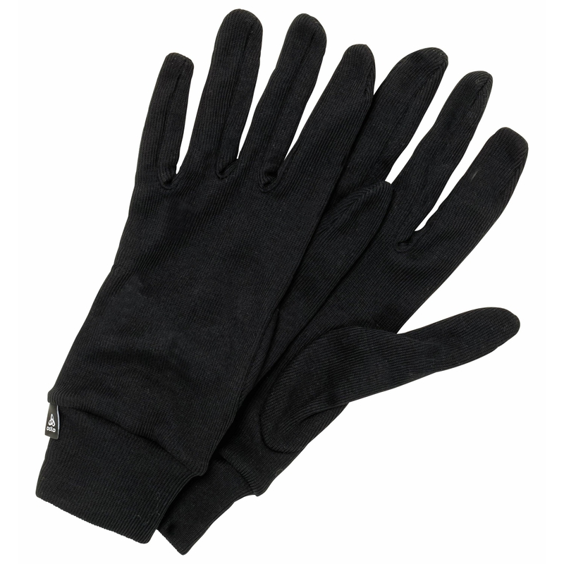 The Active Warm ECO gloves, black, large