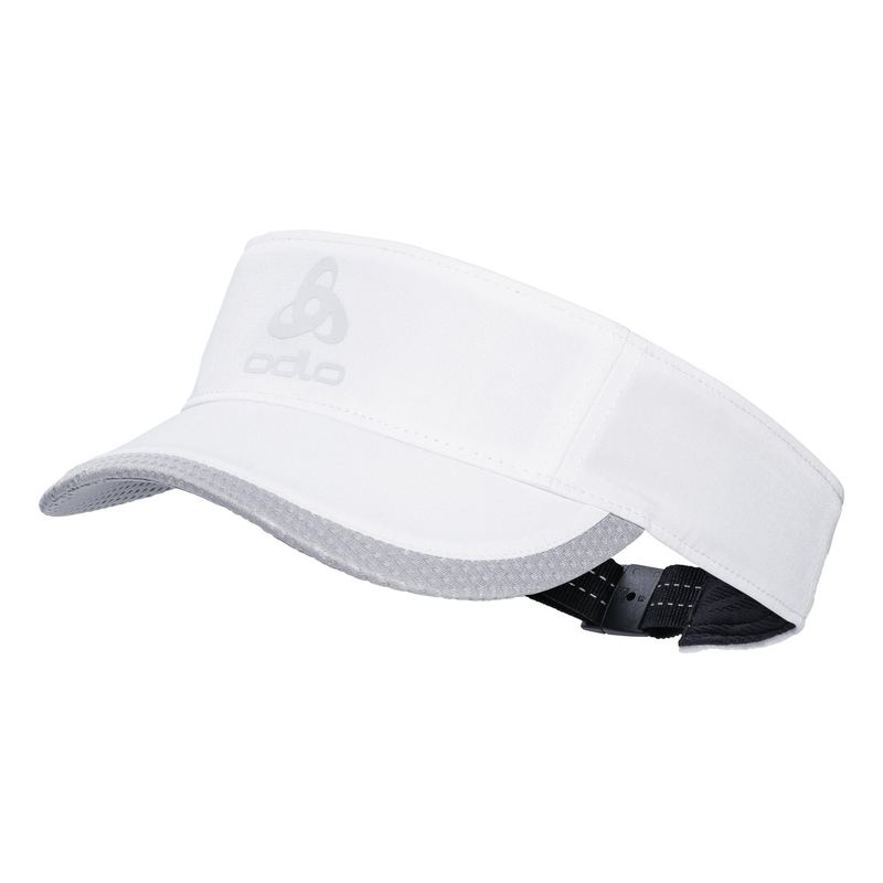 CERAMICOOL LIGHT Visor-Cap, white, large