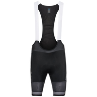 Men's ZEROWEIGHT CERAMICOOL PRO Cycling Bib Shorts, black - white, large