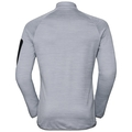 Midlayer STEAM, grey melange, large
