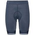 Tights short FUJIN, blue indigo melange, large