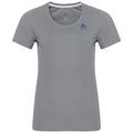 T-shirt s/s crew neck MAREN CITY, odlo concrete grey, large