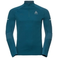 Midlayer 1/2 zip OMNIUS Warm, blue coral, large