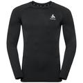 Men's CERAMIWARM Long-Sleeve Base Layer Top, black, large
