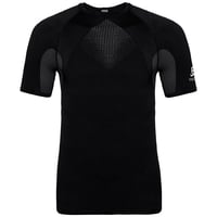SUW top girocollo manica corta Active Spine Pro Uomo, black, large