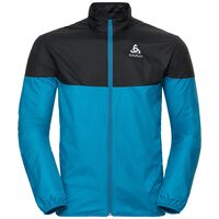 CORE LIGHT Jacke, blue jewel - black, large