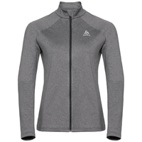 Midlayer full zip Pazola Flex Fleece, odlo graphite grey melange, large