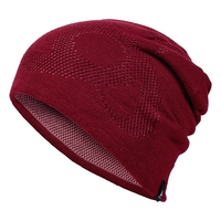 Hat MID GAGE Reversible Warm, rumba red - mesa rose, large