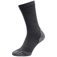 CERAMIWOOL CREW Outdoor-Socken, grey melange, large