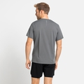 T-shirt da corsa da uomo ZEROWEIGHT CHILL-TEC da uomo, odlo steel grey, large