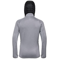 Women's KATJA Midlayer Hoody, odlo concrete grey melange, large