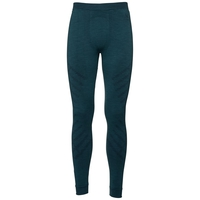 SUW Bottom Natural + Kinship Warm Hose, blue coral melange, large