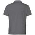 Polo NIKKO LIGHT, odlo steel grey - white, large