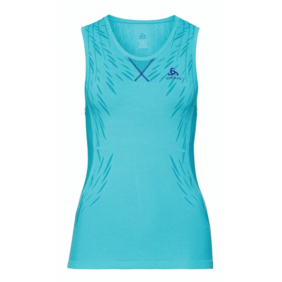 EVOLUTION LIGHT Blackcomb Top women, blue radiance - bluebird, large