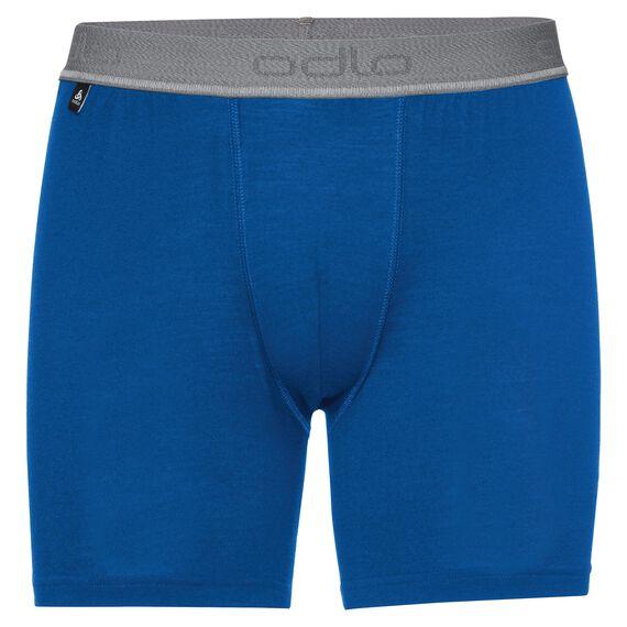 SUW Bottom Boxer NATURAL 100% MERINO WARM, energy blue, large
