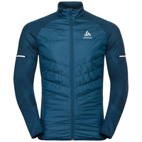 IRBIS HYBRID SEAMLESS X-Warm Jacke, poseidon - blue jewel, large