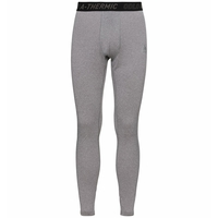 Men's ACTIVE THERMIC Baselayer Bottoms, grey melange, large