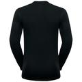Herren ACTIVE WARM Funktionsunterwäsche Langarm-Shirt, black, large