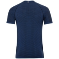 BL Top Crew neck s/s BLACKCOMB Light, diving navy - sodalite blue, large