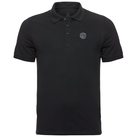 Polo shirt s/s ROAR, black, large