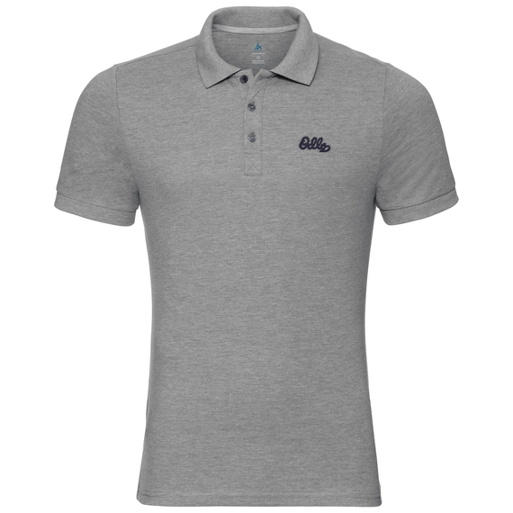 TRIM polo T-skjorte, grey melange, large