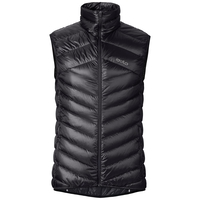 Men's AIR COCOON Vest, black, large