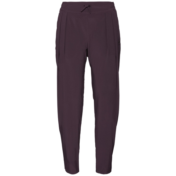 Broek LILLY WOVEN, plum perfect, large
