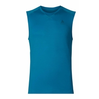 SUW TOP Crew neck Singlet EVOLUTION X-LIGHT, blue jewel, large