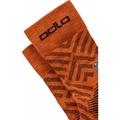 UNISEX CERAMICOOL HIKE GRAPHIC Micro Crew Socks, marmalade - graphic SS21, large