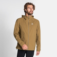 Men's AEGIS Hardshell Jacket, dull gold, large