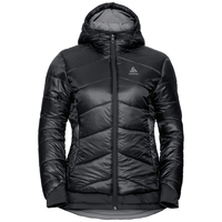 Women's COCOON S-THERMIC X-WARM Insulated Jacket, black, large