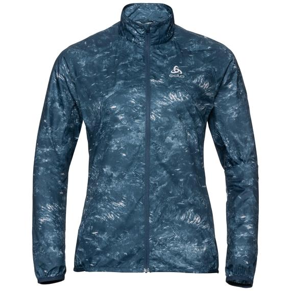 Damen ZEROWEIGHT Jacke, blue wing teal - AOP FW19, large